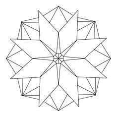 My mandala templates stained glass mandala, geometric coloring pages, manda Mandala Pattern, Zentangle Patterns, Mandala Design, Mandala Art, Pattern Art, Mandalas Painting, Mandalas Drawing, Dot Painting, Geometric Coloring Pages