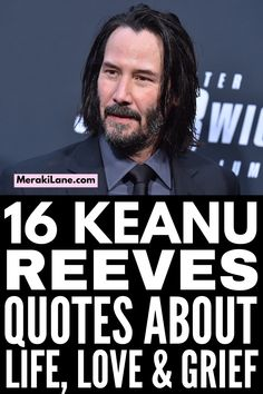 16 Keanu Reeves Quotes to Inspire You | If you've spent any time on social media, you've likely seen a Keanu Reeves quote about life, love, grief, kindness, and everything in between. He has a way of capturing his thoughts so beautifully, and the words he shares are so true. Turns out he is much deeper than the characters he plays on Point Break and John Wick! He really is a badass. Check out this collection of quotes and be prepared to have your mind blown. Jennifer Syme, Keanu Reeves Quotes, Women Laughing, Point Break, Meraki, John Wick, Best Teacher, You Are Awesome, Mind Blown