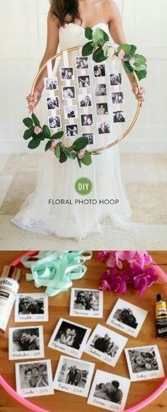Floral Hula Hup / www. Diy Wedding, Dream Wedding, Wedding Day, Bohemian Wedding Gifts, Fashion Bubbles, Photo Deco, Bridal Shower, Baby Shower, Shower Party