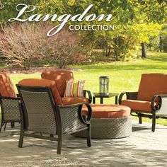 The Langdon collection is unique and innovative, featuring a curved love seat and wedge side #tables.