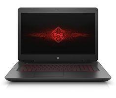 HP Omen 17-w100ng Notebook (43,9cm 17,3Zoll, Full-HD, Intel Core i5-6300HQ, 8GB RAM, 1TB HDD + 128GB SSD, Nvidia GeForce GTX1060 6GB,Windows 10 Home 64bit) grau