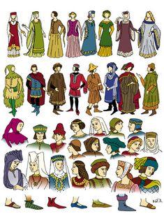 Vestido Edad Media