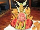 fruit carving 3/picture only