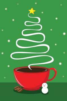 #Coffee #Christmas