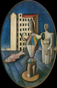 Carlo Carrà ~ pintor futurista italiano