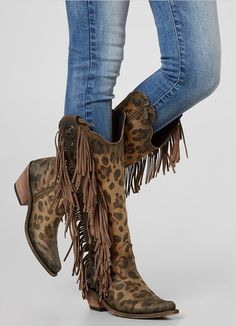 Cowboy Boots with Fringe : Liberty Black Ophelia Cowboy Boot | Buckle