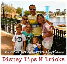 It's ALL Good in Mommyhood: Disney Tips N Tricks... several posts on Disney dos, don'ts, tips, tricks and budgeting.  Awesome