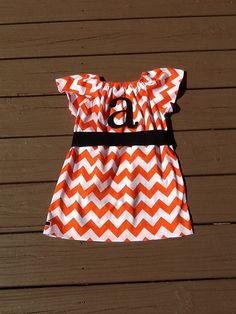 Girls Halloween Dress OR Top. Fabric Sash and by EverythingSorella
