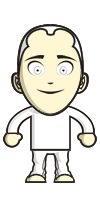 My avatar for task 2.1 of #storytelling_INTEF. Created with DoppelMe.  Easy to use and quite funny.