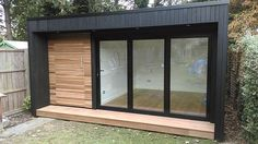 new ideas garden shed office backyard studio pool houses Garden Office Shed, Backyard Office, Backyard Studio, Garden Gym Ideas, Easy Garden, Summer House Garden, Home And Garden Store, Summer Houses, Outdoor Office