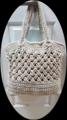 Crochet Bag Crochet Bag Pattern Crochet Totebag di HarperRow