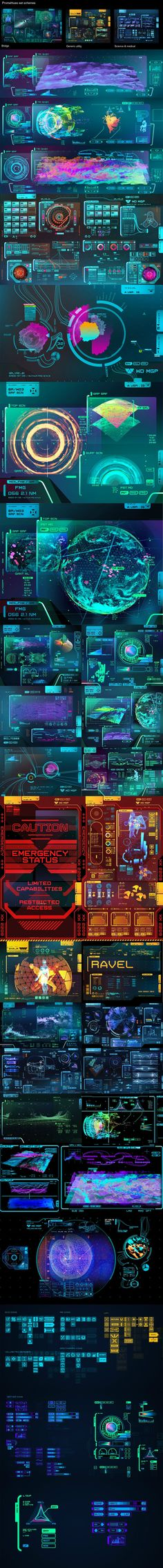 Conceptual user Interfaces experience constructs of the future, scifi or film vfx more on http://html5themes.org