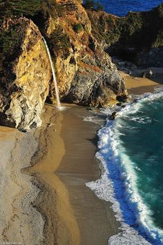 McWay Falls, Big Sur, California  Really cool that I can say I've been here :)