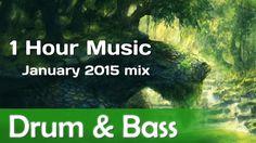 [ 1 hour ] BEST DRUM & BASS MUSIC [ January 2015 mix ]