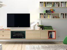 #Salones modernos y cálidos #sofá #mueble