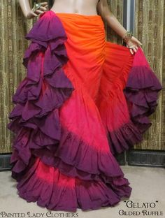 As a premiere Tribal Style Belly Dance and historical costumer Lady Faie has created fashions for stage and multiple re-enactment venues since 1990 Tribal Fusion, Dance Fashion, Gypsy Fashion, Diy Fashion, Fashion Ideas, Sexy Dresses, Nice Dresses, Waist Skirt, Dress Skirt