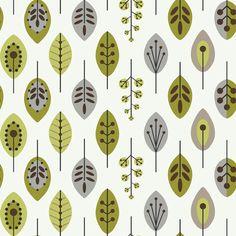 Bistro 750 Retro Leaves Prepasted Wallpaper Decor   AllModern