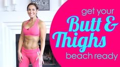 Best Butt and Thigh Exercises to Tackle 'The Butthigh' | with Natalie Jill!