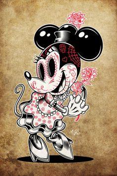 Sugar_Minnie by CaziTena.deviantart.com on @deviantART