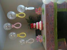 Baby shower ballon decoration