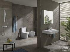 #BestBathrooms. Sencilla y atrevida, serie Acro-Compact. Comodidad y sencillez en el #baño