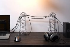 """power lines"" for your computer cables"