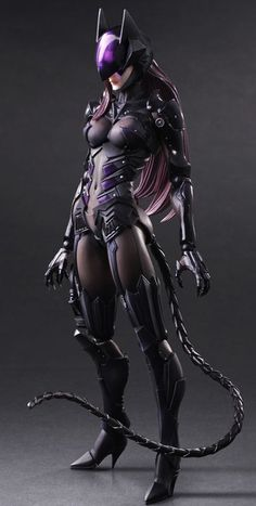 Batman: Catwoman Variant Play Arts Kai Figure image