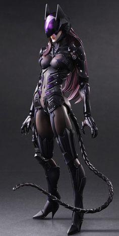 Batman: Catwoman Variant Play Arts Kai Figure image