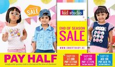 Smart Baby Online Offers  Smart Baby Online Offers Valid  25 Oct 2016   Till   31 Oct 2016 Apparels starting AED 9! End of Season Sale is Here, Get Your Favorite Baby Clothes and Other Accessories at Cost Price, Starting AED 9. Also Shop More, Save More with Pay Half offer (use coupon code at checkout). Shop for AED 300 P...  #Children #Clothing #Clothings #Fashion #UAEdeals #DubaiOffers #OffersUAE #DiscountSalesUAE #DubaiDeals #Dubai #UAE #MegaDeals #MegaDealsUAE #UAEMe