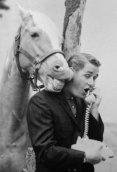 If you were born in 1961, that year older kids were watching a talking horse on TV - Mr. Ed debuted the year you were born - older boomers had seen Donald O'Conner in his movies with Francis the Talking Mule in the past so Ed was not 'that' big of a deal - but it sure was for the younger boomers!