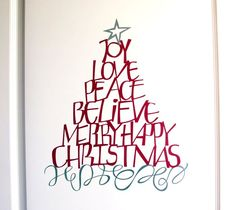 Christmas Word Tree by Wordsworth. Make It Now in Cricut Design Space