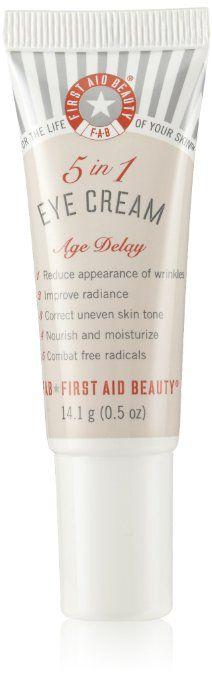 First Aid Beauty 5 in 1 Eye Cream-0.5 oz.