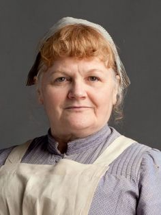 2/14/21 11:14p  ''Downton Abbey''   Leslie Nicole as  Beryl Patmore Kitchen Cook Series1/2011