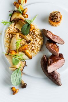 Pigeon,mushrooms - The ChefsTalk Project