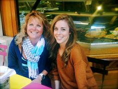 2014 Olympic figure skater Ashley Wagner and her mom.