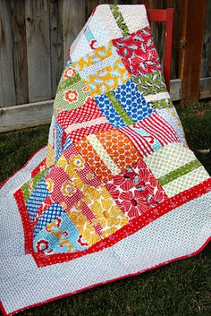 simple and fun...layer cake quilt