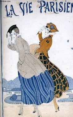 Gerda Wegener (1886 – 1940). La Vie Parisienne, 24 Avril 1915. [Pinned 6-vi-2015]