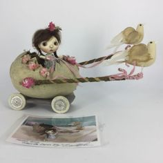 Connie-Lowe-Marbled-Halls-Pocket-Sprocket-Glum-BJD-Doll-Egg-Chariot-OOAK-IDT-amp-S