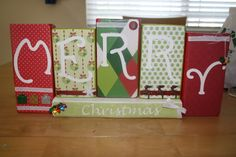 Living Craftily Ever After: 2x4 Christmas Crafts