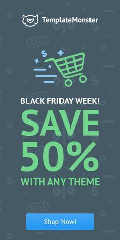Hurry Up! 2 Days Left Till the End of the #BlackFriday Week Sale. Make Sure You Grab Your Favorite Item with 50% #Discount Before #Promo Expires - http://www.templatemonster.com/?utm_source=linkedin_cpc&utm_medium=tm&utm_campaign=bfweek2016