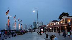 The Promenade on the Waterfront of Asiatique the Riverfront, along the Chao Phray River, Bangkok