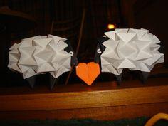 Origami sheeps!