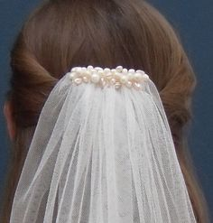 Hey, I found this really awesome Etsy listing at https://www.etsy.com/listing/267092778/pearl-wedding-veil-ivory-white-or