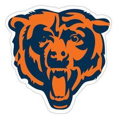 Chicago Bears NFL Diecut Window Film
