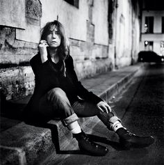 Once considered odd, now considered timeless. Patti Smith and her signature androgenous style