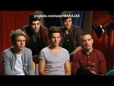 ONE DIRECTION Interview on Sunday Night 21/10/2012 HD
