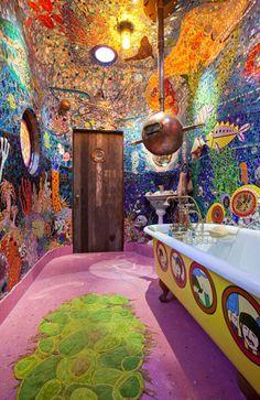 gaudi inspired bathroom