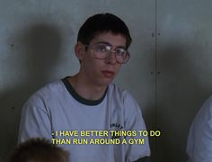 Bill-Freaks and Geeks. Pretty sure he's my soulmate. Tv Show Quotes, Film Quotes, Intp, Freeks And Geeks, Film Serie, Romance, My Mood, How I Feel, Mood Quotes