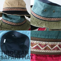 Rakuten: [HAT] Make three colors of reshuffling with Tyrolean tape line saliva wire; black pro-Sakha re-safari hat man and woman combined use OUTDOOR, khaki, red [email service] [Rakuten ranking winning prize!]◇- Shopping Japanese products from Japan