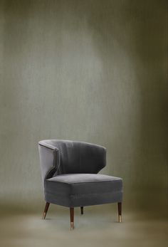 IBIS Dining Chair by @BRABBU | Modern Chairs. Chair Design. Velvet Chair. #modernchairs #accentchair #armchair Discover more: https://www.brabbu.com/en/upholstery/ibis-armchair/